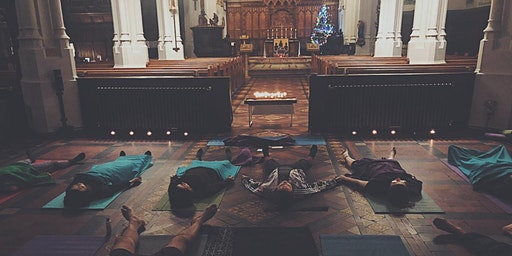 Candlelight Yoga for Charity