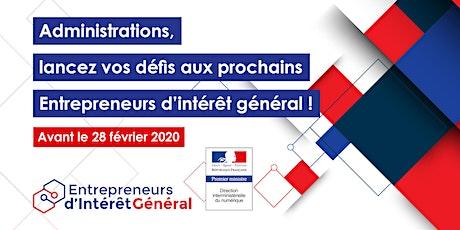 Appel à projets EIG promotion 4 - Evénement d'information billets