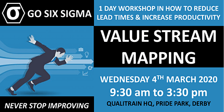 Lean manufacturing - productivity from value stream mapping tickets