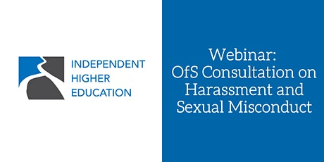Webinar: OfS Consultation on Harassment and Sexual Misconduct tickets