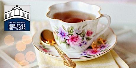Oxford Heritage Network Tea tickets