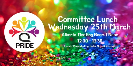 Q Pride Committee Lunch tickets
