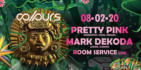 Colours with Pretty Pink, Mark Dekoda, Room Service Live Tickets