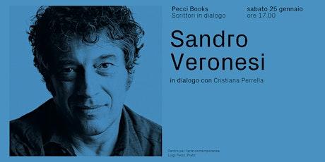 Sandro Veronesi | Pecci Books biglietti
