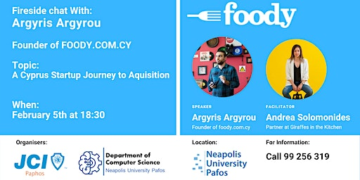 A Cyprus Startup Journey to Aquisition - Foody.com.cy