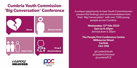 Cumbria Youth Commission 'Big Conversation' Conference tickets