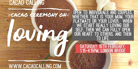 Cacao Ceremony on relationships; starting with You tickets