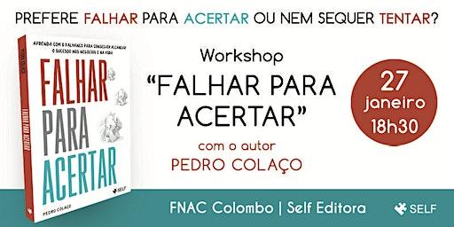 Workshop Gratuito: Falhar para Acertar