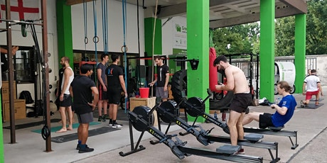 Free Crossfit Team WOD - Berlin every Tue 18:00, Thurs 18:00, Sat 16:00 outdoors tickets