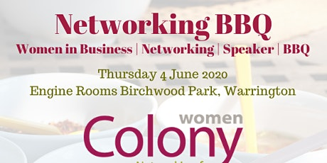 Colony Women in Business - Networking BBQ - 4 June 2020 tickets