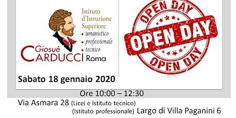 """Open Day Istituto di Istruzione Superiore """"Giosuè Carducci"""" - Roma biglietti"""