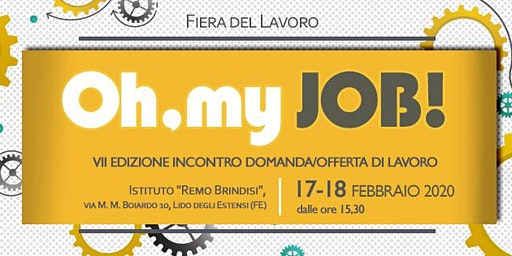 """Oh, my job!"" Comacchio -  2020"