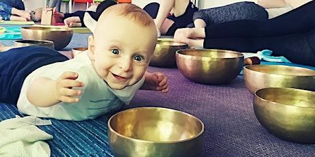 Mom & Baby Yoga Sound Bath Mini Retreat tickets