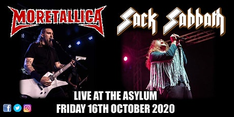 Moretallica & Sack Sabbath - Live at The Asylum tickets
