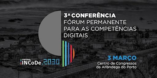 3.ª Conferência do Fórum Permanente para as Competências Digitais