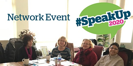 #SpeakUp2020 Network Event tickets