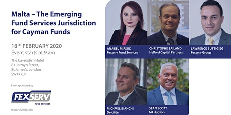 Malta - The Emerging Fund  Services Jurisdiction for Cayman Funds tickets
