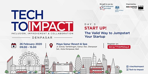 TECHTOIMPACT - The Valid Way to Jump-Start Your Start Up