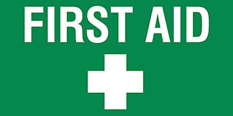 Level 3 Emergency First Aid at Work - Biddulph tickets