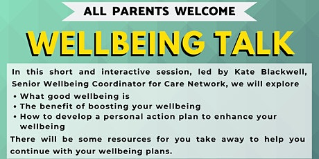 Wellbeing session tickets