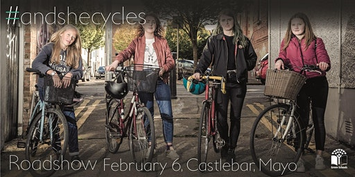 #andshecycles Roadshow Mayo