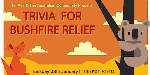 Trivia Night for Bushfire Relief in Australia