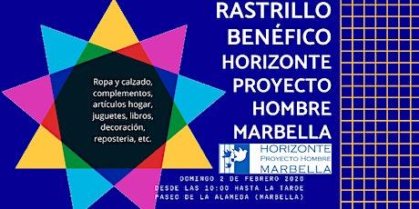 Rastrillo Benéfico Horizonte Proyecto Hombre Marbella entradas