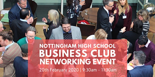 Business Club Networking Event at Nottingham High School