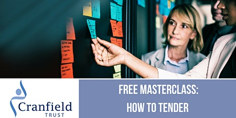 Free charity masterclass: How to Tender - what charities need to know. tickets
