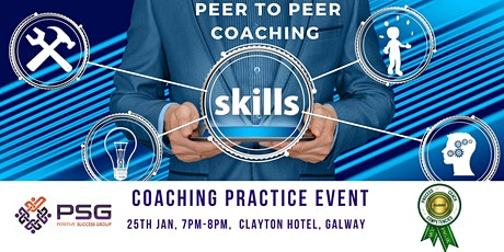 PEER TO PEER COACHING - COACHING PRACTICE EVENT - GALWAY tickets