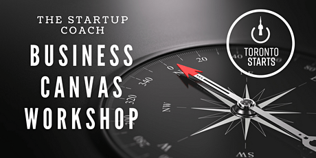 Business Model Canvas Workshop with The Startup Coach tickets
