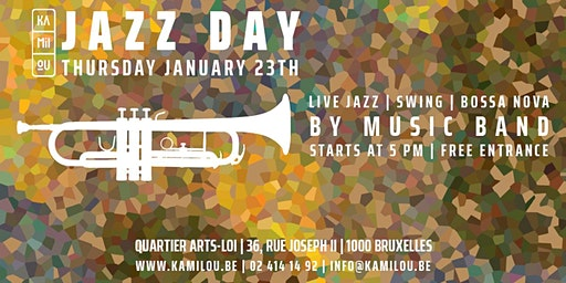 Afterwork - Jazz Day @ Kamilou (Arts-loi)