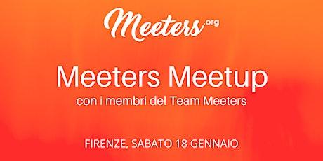 Meeters Meetup - Incontra il Team biglietti