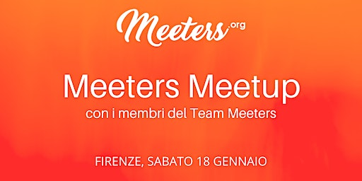 Meeters Meetup - Incontra il Team