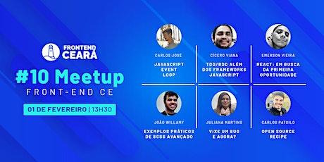 #10 Meetup Front-End CE ingressos