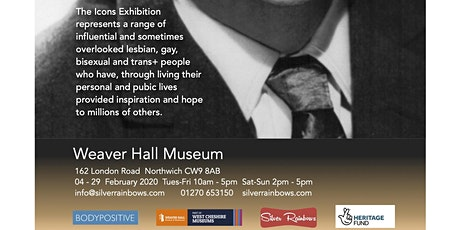 LGBT History Month Exhibition - LGBT+ Icons tickets