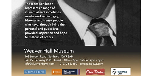LGBT History Month Exhibition - LGBT+ Icons