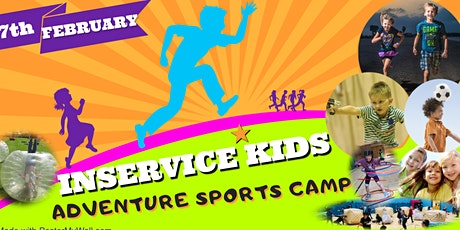LOSSIEMOUTH INSERVICE ADVENTURE SPORTS CAMP FRIDAY 7TH OF FEBRUARY tickets
