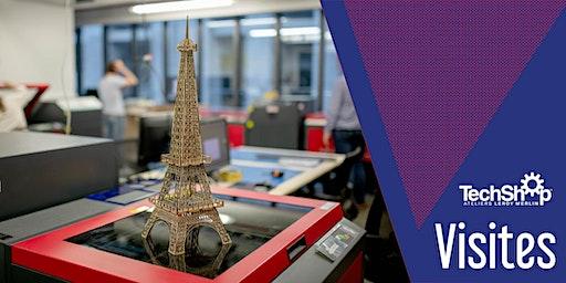 Visite du TechShop Paris