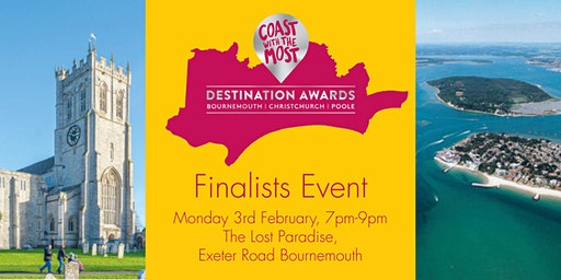 Destination Awards - Finalists Event