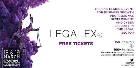 LegalEx 2020 tickets