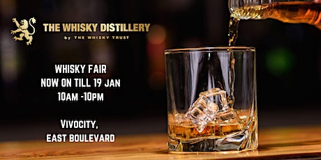 The Whisky Distillery Fair tickets