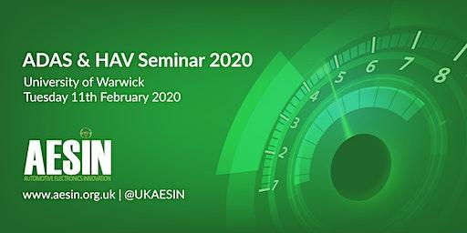 ADAS & HAV Seminar 2020