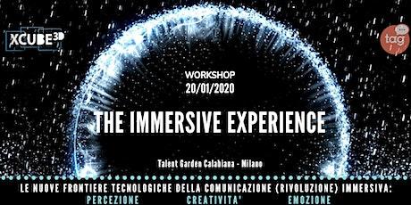 THE IMMERSIVE EXPERIENCE: Video Mapping Immersivo & Comunicazione Visiva 3D biglietti