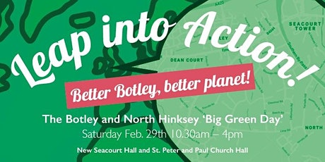 Leap into Action! - the Botley and North Hinksey 'Big Green Day' tickets