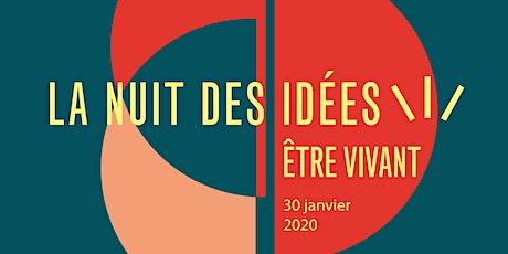 Lancement de la Nuit des idées 2020 tickets