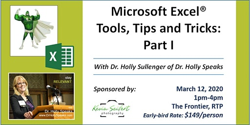 Microsoft Excel Tools, Tips and Tricks: Part I