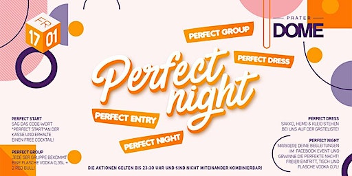 Webster University goes Perfect Night