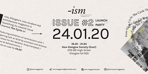 -ism issue#2 launch party