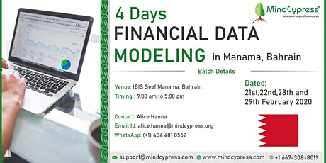 Financial Data Modeling 4 Days Training by MindCypress at Manama tickets